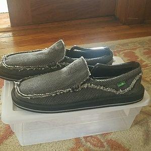 New Sanuk slip on loafer